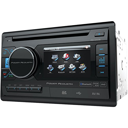 """Power Acoustik PD 342B 3.4"""" Double-DIN In-Dash LCD Touchs..."""