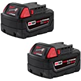 MILWAUKEE M18TM REDLITHIUMTM XC5.0 Extended Capacity Battery Two Pack