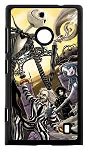 Custom Cartoon The Nightmare Before Christmas Pattern Case Cover for Nokia Lumia 520, Wonderful phone cases