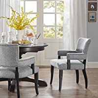 Dawson Arm Dining Chair Grey See below