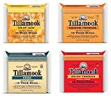 Tillamook Medium, Sharp, Swiss & Colby Jack Sliced Cheese Sampler