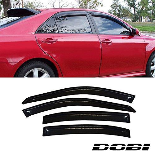 Deebior 4pcs Sun/Rain Guard Vent Shade Window Visors Fit 97-03 Chevy Malibu Sedan