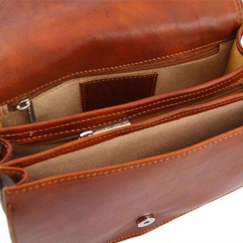 Tuscany Leather , Damen Schultertasche Beige beige