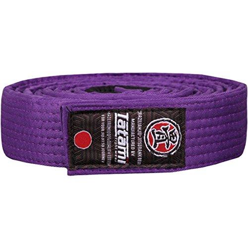 Tatami Fightwear Adult BJJ Rank Belt - A1 - Purple