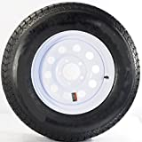 2-Pack TowMax Trailer Tires & Rims ST175/80R13C 1360# 13X4.5 5-4.5 Modular White