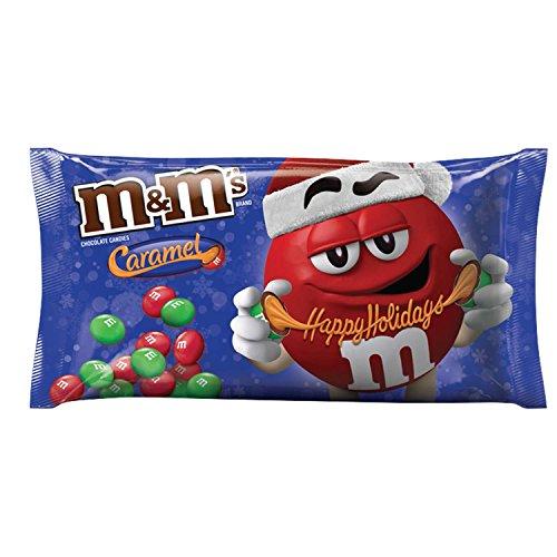 M&M'S Christmas Caramel Chocolate Candy 10.2-Ounce Bag ()