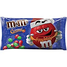 M&M'S Christmas Caramel Chocolate Candy 10.2-Ounce Bag