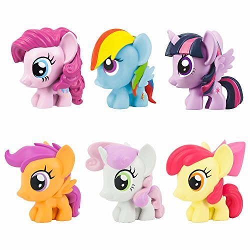 My Little Pony Friendship Is Magic Fash'ems Series 3 Value Pack Toy Figure Set of 6 ()