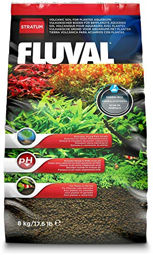 Fluval Plant and Shrimp Stratum 35.2lb (2x17.6lb) (Best Soil Substrate For Planted Aquarium)