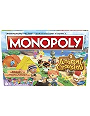 Hasbro Monopoly Animal Crossing New Horizons Edition Board Game for Kids Ages 8 and Up, Fun Game to Play for 2-4 Players, Children One Size