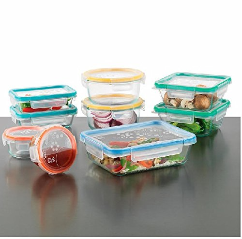 Snapware: 18PC Total Solution Pyrex Glass Food Keeper Set - Featuring Write N' Erase Lids - 18PC - 18-Piece - Costco Plastic Glasses