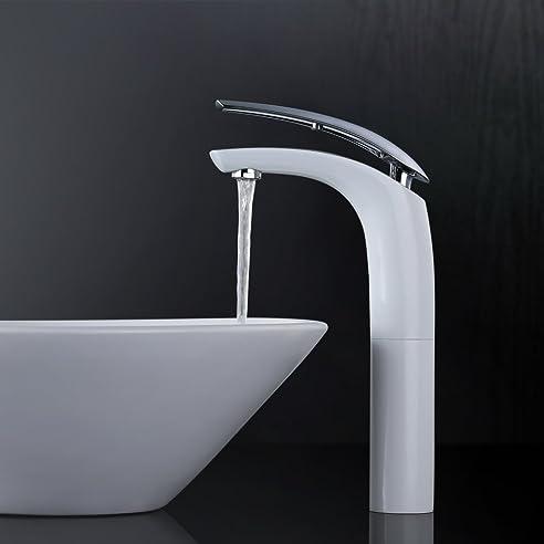 Homelody Elegant Wasserhahn Bad Waschtischarmatur Hoch