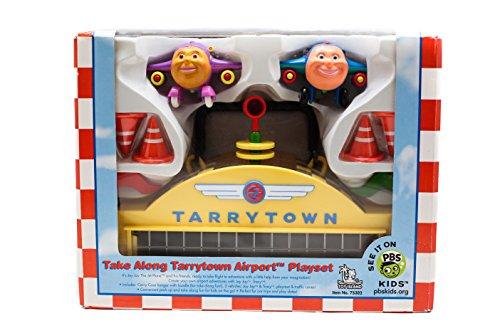 - Jay jay the jet plane take along tarrytown airport playset