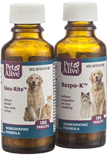 352417 PetAlive Respiratory ComboPack for Pets (Best Medicine For Cough And Sneezing)
