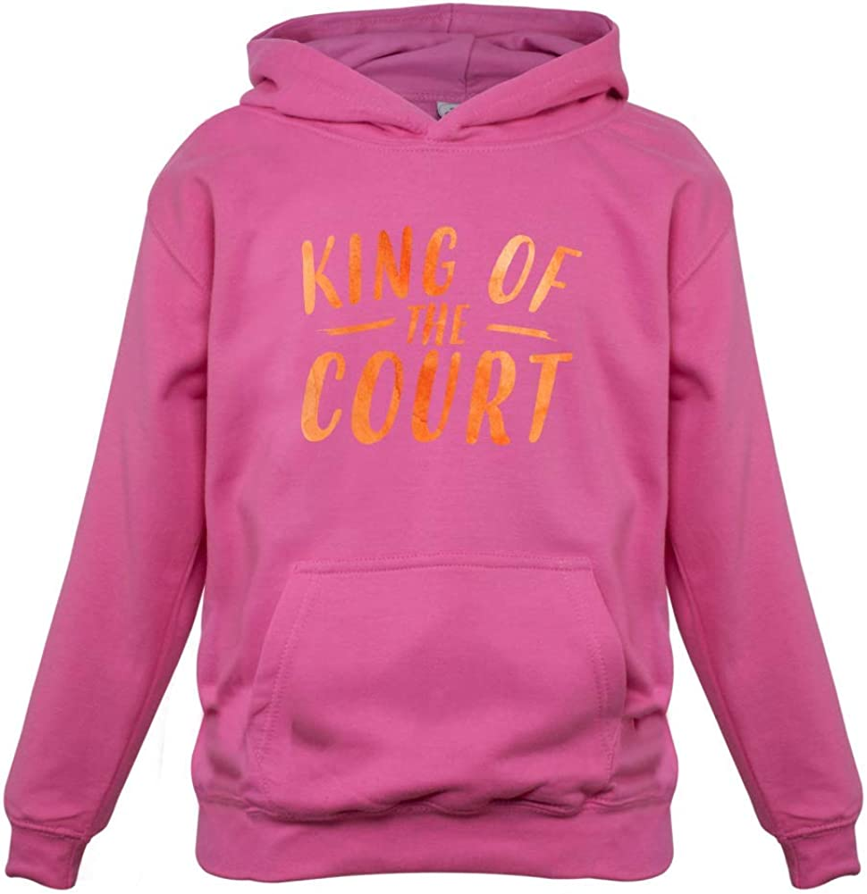 9 Colours Kids Hoodie King of The Court 1-13 Years