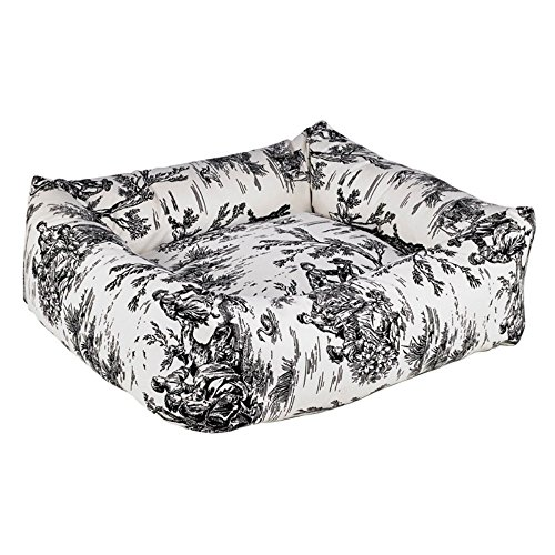 - Bowsers Dutchie Bed, Large, Onyx Toile