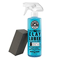 Chemical Guys CLAY_BLOCK_KIT Clay Block V2 and Luber Surface Cleaner