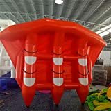 0.9mm PVC Towable Inflatable Flying Fish Boats for