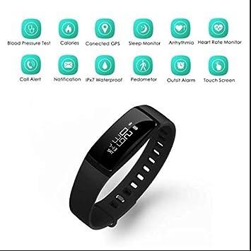 Monitor de ritmo cardíaco Smartwatch, pulsera deporte reloj ...