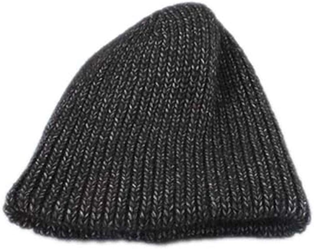 STARSTARTS Women Winter Cap Thick Knitted Wool Warm Hats Caps Casual Beanies