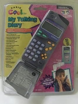 Casio Jd-4200 My Talking Diary - Agenda electrónica: Amazon ...