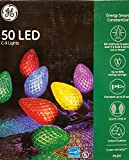 GE StayBright 50 Christmas LED C-9 Lights C9