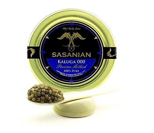 LIMITED TIME OFFER! Fresh River Beluga Caviar/ Kaluga hyb...