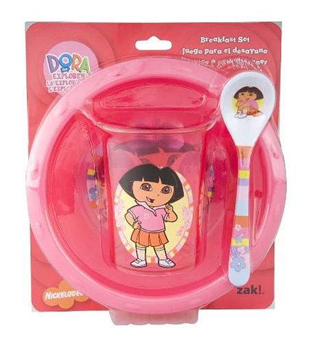 柔らかい Zak The Dora Designs B000QJ2VKC Dora The Explorer朝食セット B000QJ2VKC, 光雅晶:a14208fa --- a0267596.xsph.ru