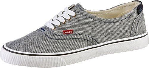 Levi's Original Red Tab Sneaker Low - Zapatillas de Deporte de canvas hombre grey denim