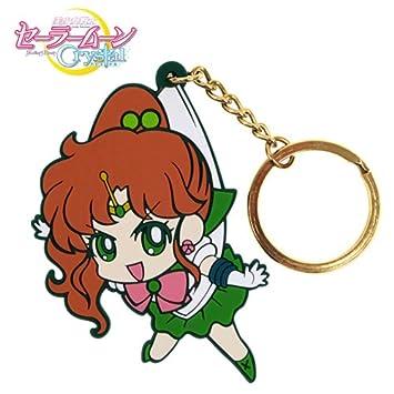 Sailor Moon Sailor Jupiter Crystal Llavero pellizcado ...
