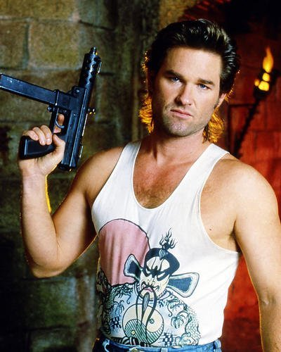 Kurt Russell 8x10 HD Aluminum Wall Art as Jack Burton in Big Trouble in Little China