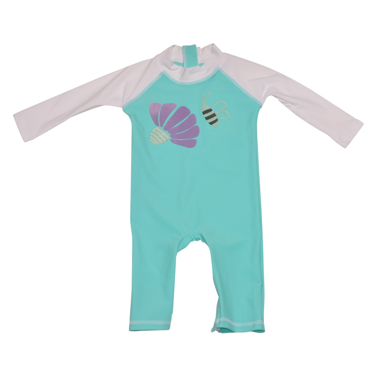 Flap Happy Baby Girls UPF 50 Graphic Rash Suit