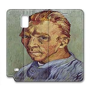 Vincent Van Gogh Design Leather Case for Samsung Note 4 Portrait wangjiang maoyi