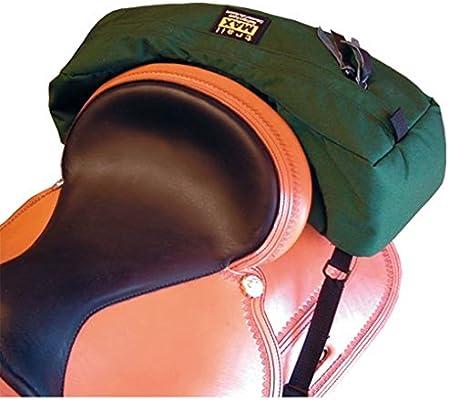56883227fc trailMAX - Sacoche de troussequin western - en forme de sac banane - vert