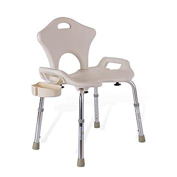 XFPINK-shower chair Dusche Bad Stuhl erweitert Aluminium Bad Stuhl ...