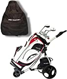 Promaster Plus Deluxe Electric Golf Trolley Digital 36 Hole Battery Charger Cart