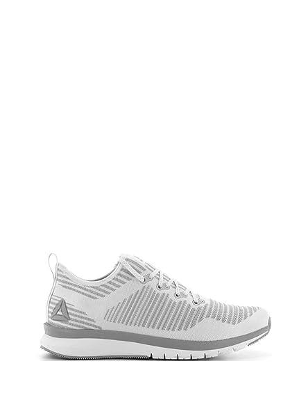 Reebok Men s Print Smooth 2.0 Ultk Wht Gry Frostbite Metalli Running Shoes-7 b2bebdcd5