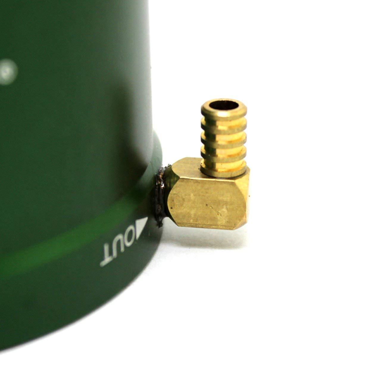 X-TEAM 24-25 Couvre-manteau de refroidissement par eau Accessoires de mod/èle pour moteurs sans balais 2430//2440//2445 Pi/èces de rechange pour bateaux Bateaux RC couleur: vert
