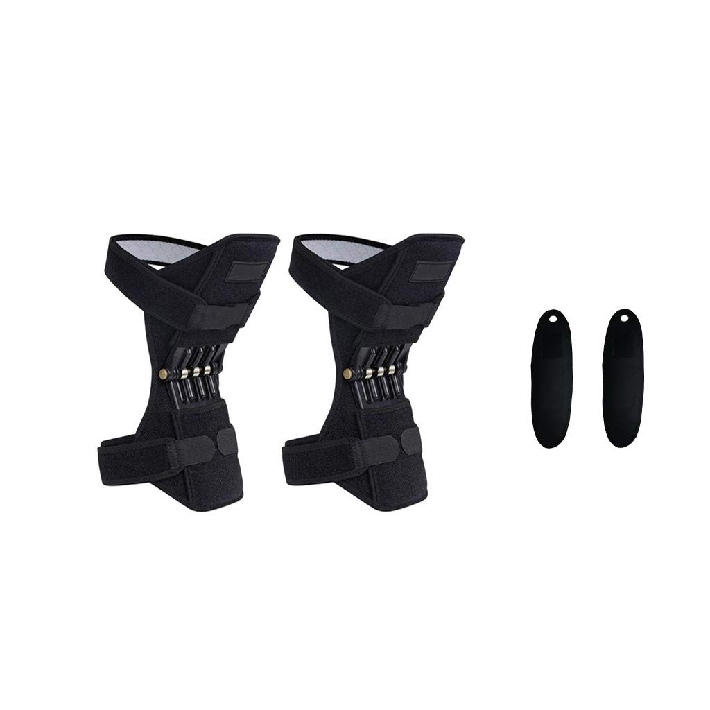 NszzJixo9 knee Protection Booster Joint Support Knee Pads Powerful Rebound Spring Force Self-heating Wristband Pads Powerful Rebound Spring Force