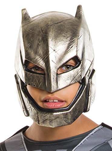 [UHC Boy's Dawn Of Justice Armored Batman Vs. Superman Halloween Costume Mask] (Ultimate Party Animal Halloween Costume)