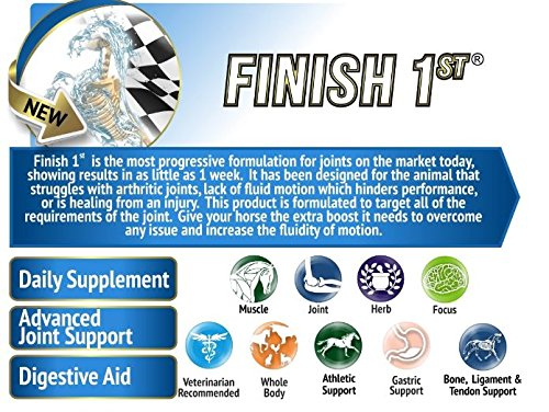 Animal Element Finish First Advanced Joint Formula - 2.4 Lb. - Organic, GMO Free, Supports Healthy Joints