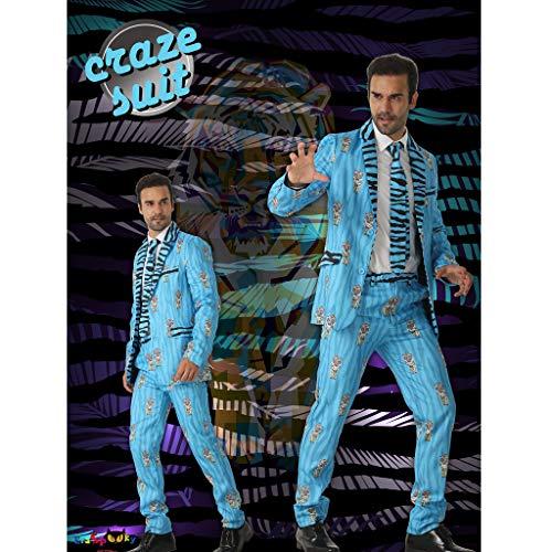 Festa Tuta Uomini Eraspooky Tigre Blazer Blu Vestito Fantasia wApfSFWfq