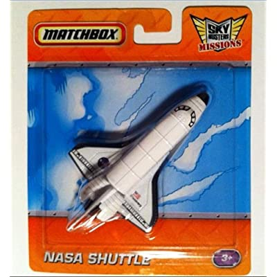 Sky Busters NASA Space Shuttle Die-Cast Spacecraft Matchbox Missions Series: Toys & Games