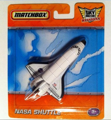 NASA SPACE SHUTTLE Die-Cast Spacecraft MATCHBOX Sky Busters Missions Series