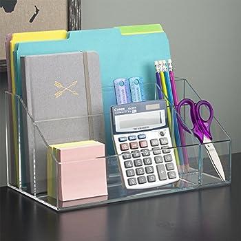 STORi Premium Quality Clear Plastic Craft and Desktop Organizer