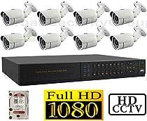 USG 1080P HD-SDI 8 Channel Kit: 1x 8 Ch DVR + 8x Bullet Cameras + 1x 2TB HDD *** High Definition CCTV Video Surveillance