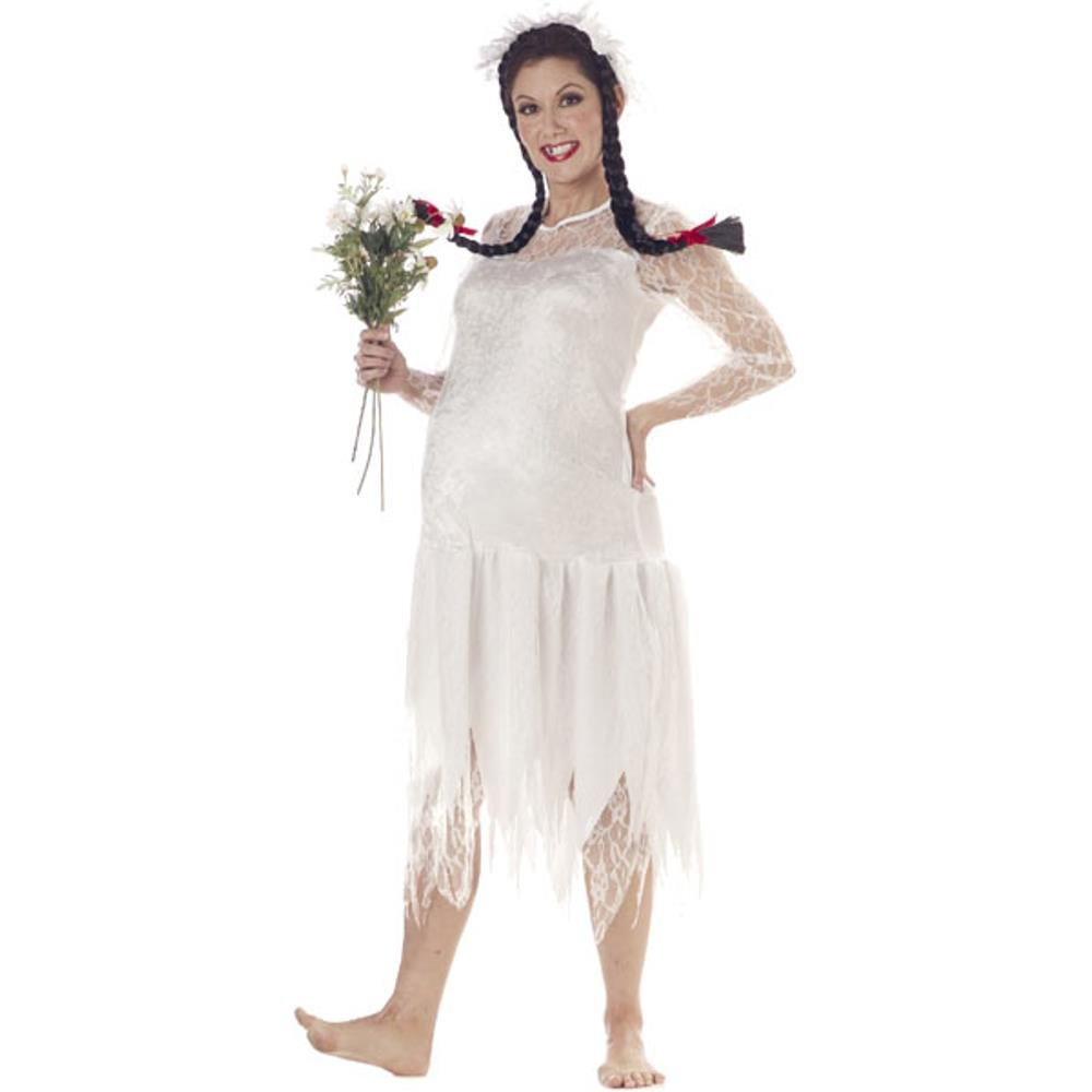 Adult Hillbilly Woman Costume, Size Large 10-12
