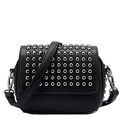 MAINLYCOR CHB880468 Fashion PU Leather Hip-Hop Women's Handbag,Square Cross-Section Small Square Package