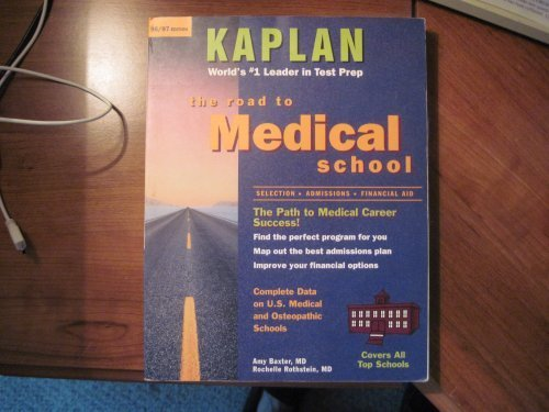 Road to Med School by Rothstein Rochelle (1996-03-01) Paperback