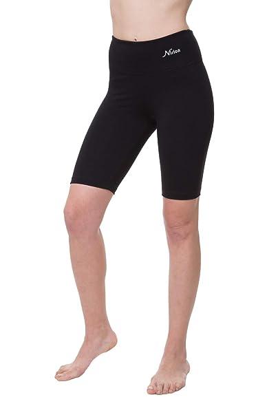 heiß-verkaufender Fachmann Großhandelspreis 2019 schnell verkaufend NIRLON Yoga-Shorts für Damen, hohe Taille, Bauchkontrolle ...